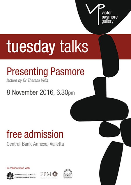 Presenting Pasmore - Lecture by Dr Theresa Vella