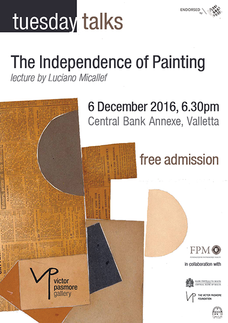 The Independence of Painting - Lecture by Luciano Micallef