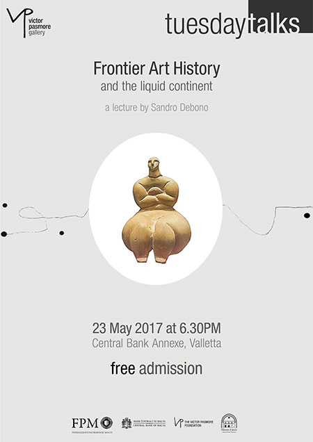 Frontier Art History and the liquid continent - Lecture by Sandro Debono