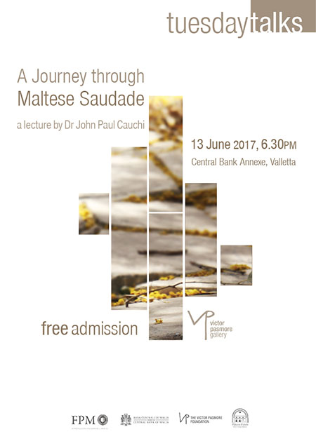 A Journey Through Maltese Saudade - Lecture by Dr John Paul Cauchi