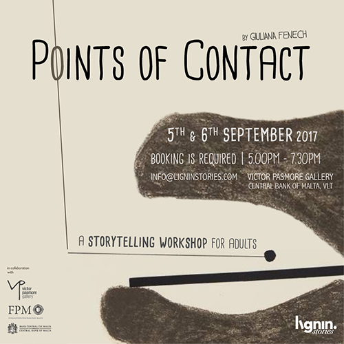 Points of Contact: a storytelling workshop for adults
