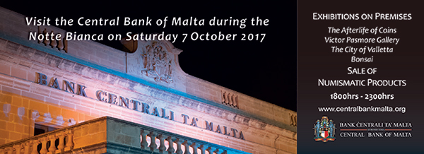 Central Bank of Malta open during Notte Bianca 2017