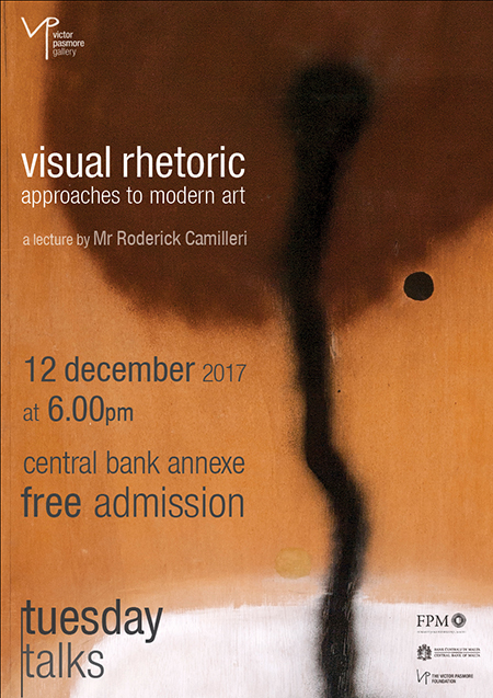 Tuesday Talks: Visual Rhetoric - approaches to modern art - a lecture by Mr Roderick Camilleri