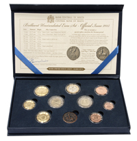 Dated coin set 2015