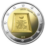 €2 Commemorative Coin – Republic, 1974