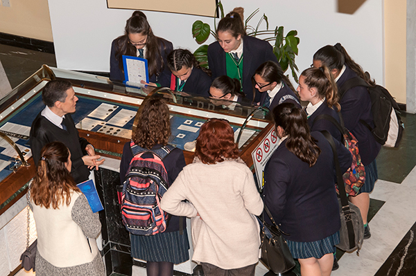 European Money Week - Secondary school students visit the Central Bank of Malta