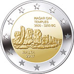€2 commemorative coin - Ħaġar Qim
