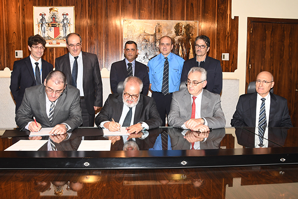 Signing of the Collective Agreement between the Central Bank of Malta and the Professionals, Finance and Services Section of the General Workers Union