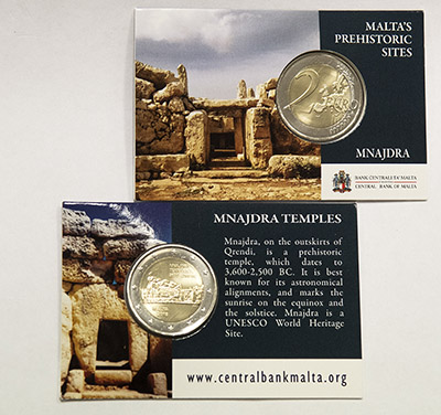 Coin Card - Mnajdra Temples