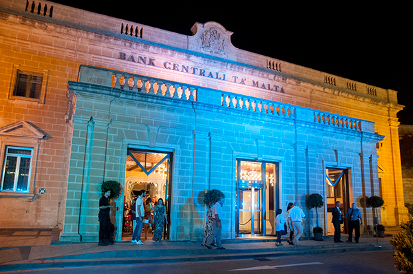 Central Bank of Malta open during Notte Bianca