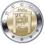 Commemorative €2 coin 'Cultural Heritage' issued under the programme 'From Children in Solidarity'
