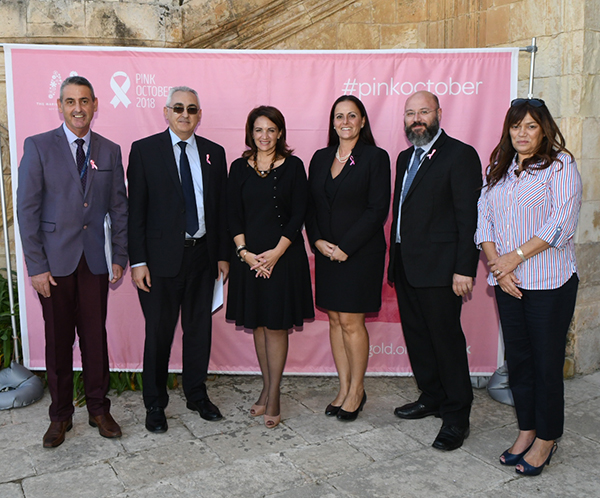 The Central Bank of Malta went Pink