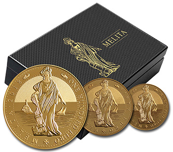 Issue of Melita bullion coins 2018