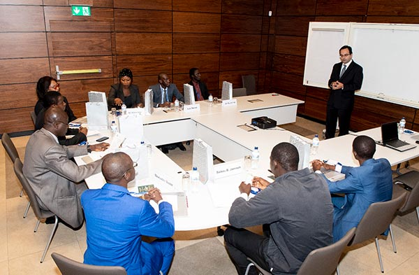 Training course for central bankers from The Gambia