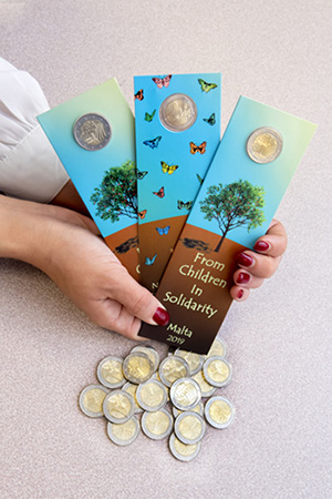 Children's coin proceeds donated to the MCCFF