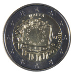 €2 Commemorative Coin - 30th Anniversary of the EU Flag