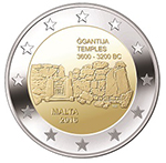 €2 commemorative coin Ġgantija