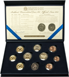 Dated coin set 2012