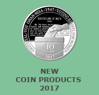 New Coin Products 2017