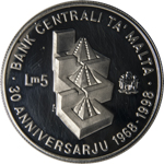 30th Anniversary of the Central Bank of Malta