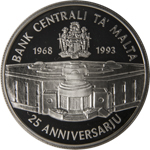 25th Anniversary of the Central Bank of Malta