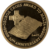 50th Anniversary of the award of the George Cross to Malta gold coin
