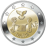 €2 Commemorative - Peace