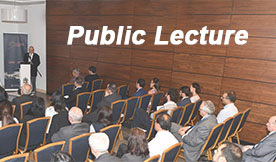 Public Lectures and Internal Workshops