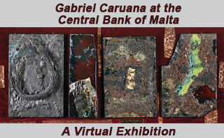 Gabriel Caruana at the Central Bank of Malta: A Virtual Exhibition
