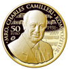 Maestro Charles Camilleri gold coin