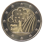 €2 Commemorative - Nature and Environment