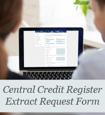 Ordering an extract from the Central Credit Register