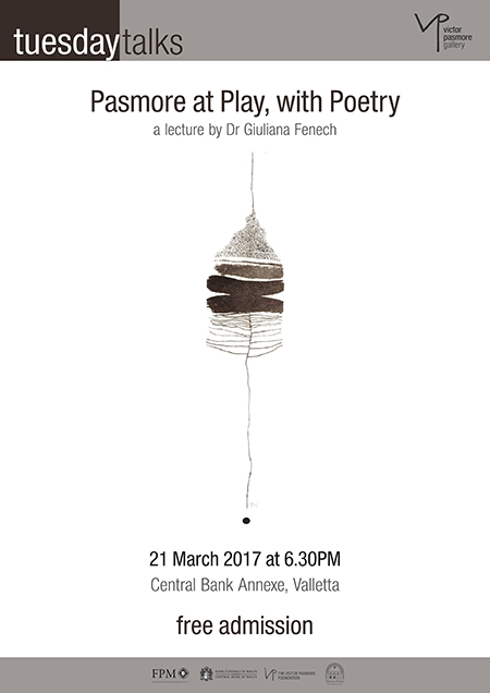 Pasmore at Play, with Poetry - Lekċer minn Dr Giuliana Fenech