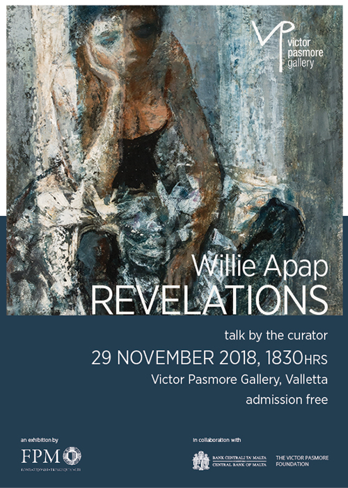 Willie Apap: Revelations - talk by the curator