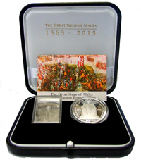 Joint numismatic product - 450th Anniversary of the Great Siege of Malta